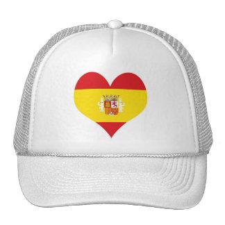 Bandera del español de España Gorros