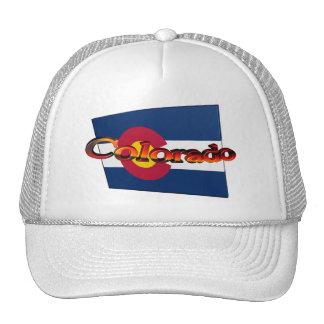 bandera del estado de 3D Colorado Gorras