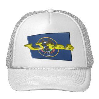bandera del estado de 3D Utah Gorro De Camionero