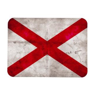 Bandera del estado de Alabama Imanes De Vinilo