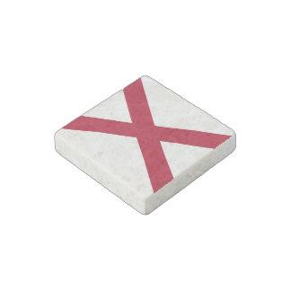 Bandera del estado de Alabama Imán De Piedra