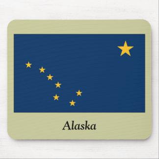 Bandera del estado de Alaska Alfombrilla De Ratones