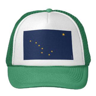 Bandera del estado de Alaska Gorros Bordados