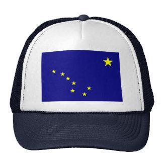 Bandera del estado de Alaska Gorras De Camionero