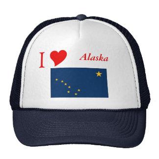 Bandera del estado de Alaska Gorras