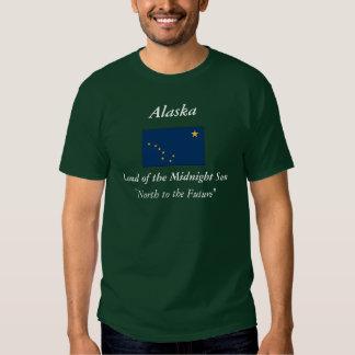 Bandera del estado de Alaska Polera