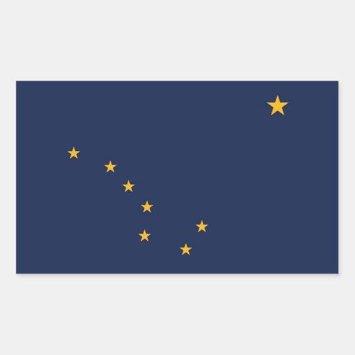 Bandera del estado de Alaska Rectangular Altavoz