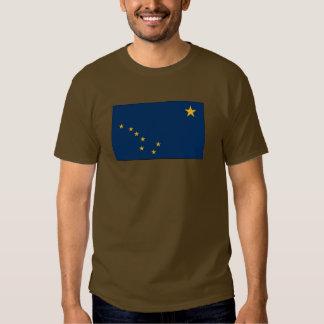 Bandera del estado de Alaska Remera
