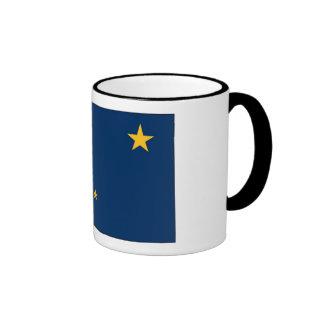 Bandera del estado de Alaska Taza De Dos Colores