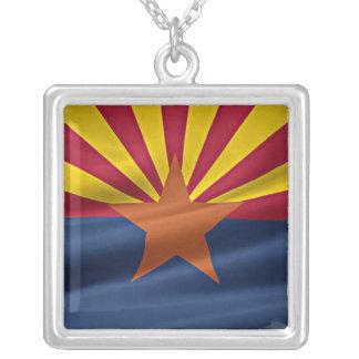 Bandera del estado de Arizona Colgante Cuadrado