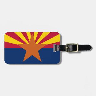 Bandera del estado de Arizona Etiquetas Para Maletas