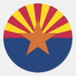 Bandera del estado de Arizona Etiquetas