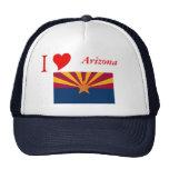 Bandera del estado de Arizona Gorras