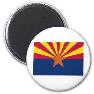 Bandera del estado de Arizona Imanes Para Frigoríficos