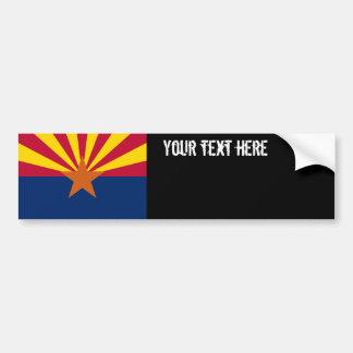 Bandera del estado de Arizona Pegatina Para Auto