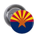 Bandera del estado de Arizona Pin