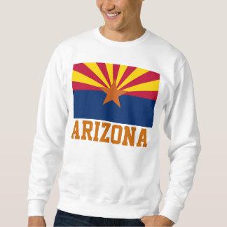 Bandera del estado de Arizona Pulóver Sudadera