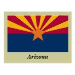 Bandera del estado de Arizona Tarjetas Postales