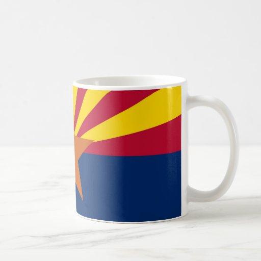 Bandera del estado de Arizona Taza De Café