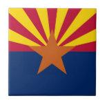 Bandera del estado de Arizona Tejas