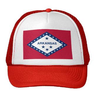 Bandera del estado de Arkansas Gorras