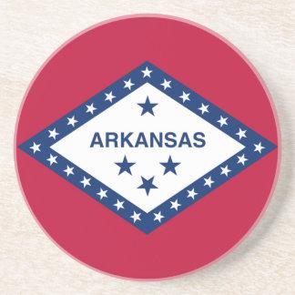 Bandera del estado de Arkansas Posavasos Personalizados