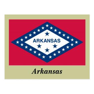 Bandera del estado de Arkansas Tarjetas Postales