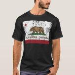 bandera del estado de California de los verdes de Playera