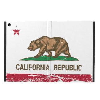 Bandera del estado de California del Grunge