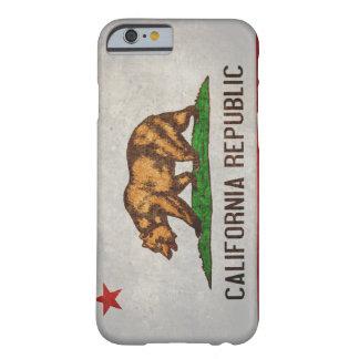 Bandera del estado de California Funda Para iPhone 6 Barely There