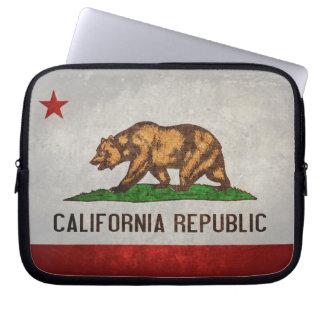 Bandera del estado de California Fundas Ordendadores