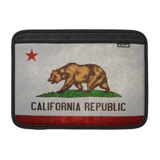 Bandera del estado de California Fundas Para Macbook Air