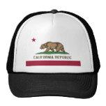 Bandera del estado de California Gorras De Camionero
