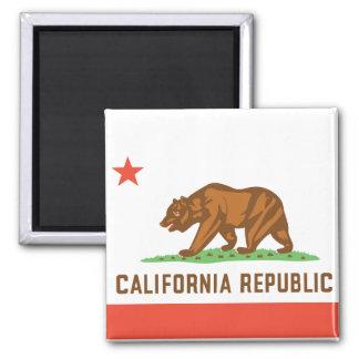 Bandera del estado de California Imán De Nevera