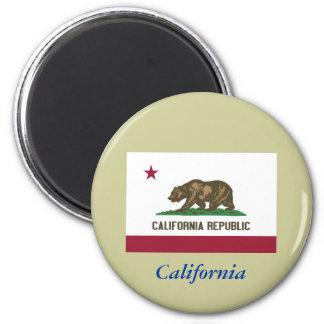 Bandera del estado de California Imán