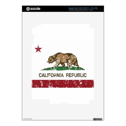 Bandera del estado de California iPad 3 Skin