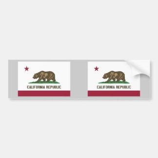 Bandera del estado de California Pegatina Para Auto