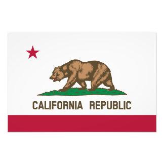 Bandera del estado de California Impresiones Fotograficas