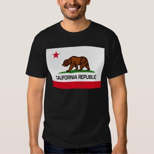 Bandera del estado de California Poleras