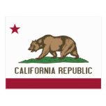 Bandera del estado de California Postal