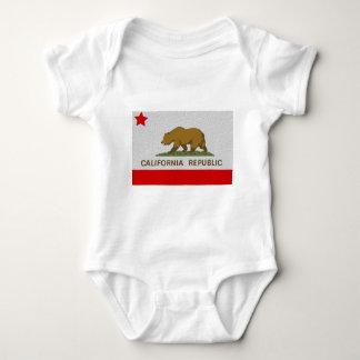 Bandera del estado de California Remeras