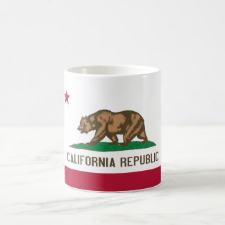 Bandera del estado de California Taza De Café
