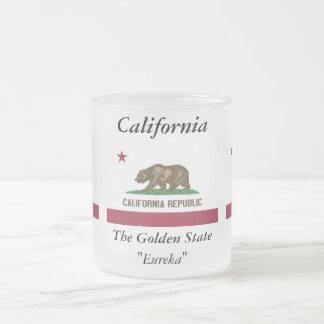 Bandera del estado de California Taza De Café Esmerilada