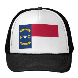 Bandera del estado de Carolina del Norte Gorro