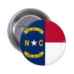 Bandera del estado de Carolina del Norte Pin