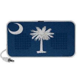 Bandera del estado de Carolina del Sur iPhone Altavoz
