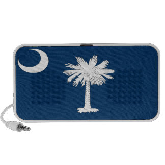 Bandera del estado de Carolina del Sur Mini Altavoz