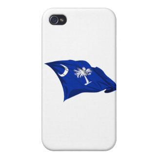 Bandera del estado de Carolina del Sur iPhone 4/4S Funda