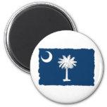 Bandera del estado de Carolina del Sur Imán De Frigorífico