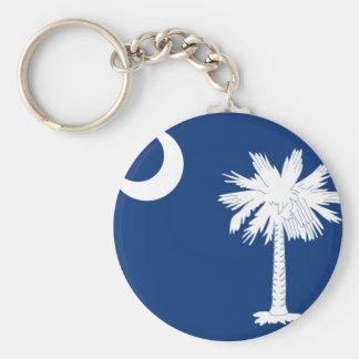 Bandera del estado de Carolina del Sur Llavero
